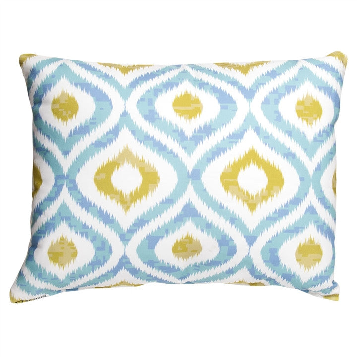 Ikat Pattern Outdoor Pillow