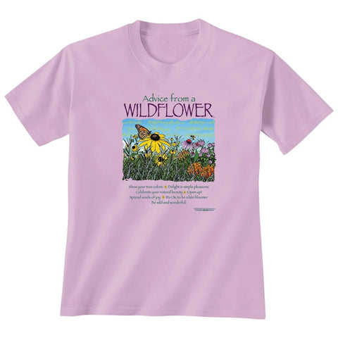 Advice From A Wildflower T-Shirt (NB)