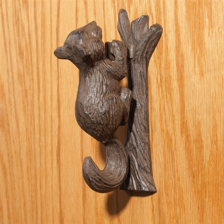 Squirrel Door Knocker