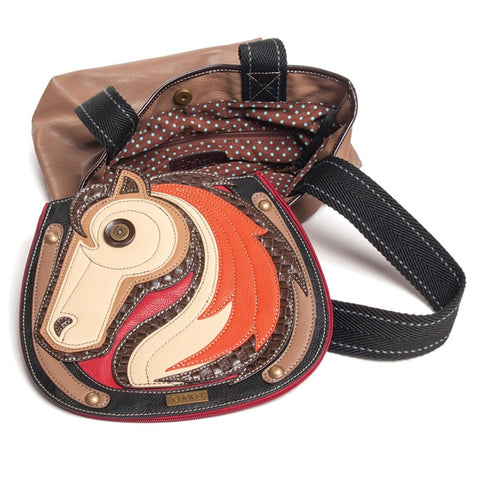 Horse Tote With Tablet Sleeve