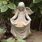 Angelic Cherub Figurine Bird Feeder (NB)
