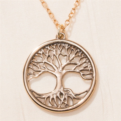 Tree Of Life Bronze Necklace