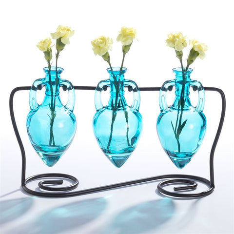 Hanging Amphora Bottle Bud Vases