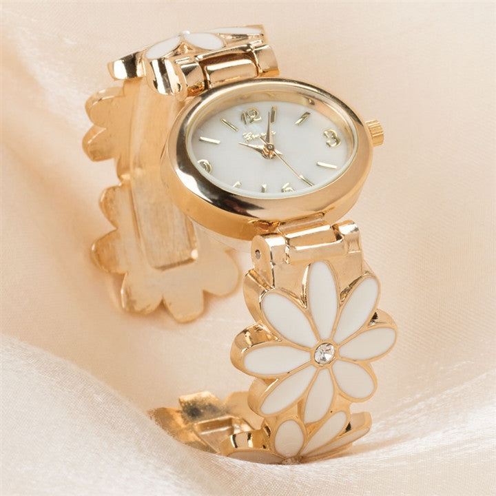 Daisy Chain Cuff Watch
