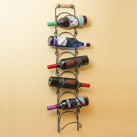 Tahoe Wall-Mount Wine Rack