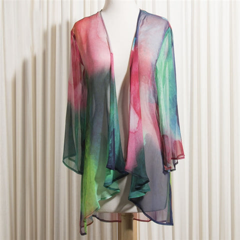 Watercolors Silk Wrap (NB)