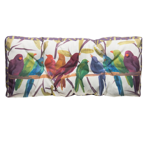 Rainbow Flock Climaweave Bench Cushion