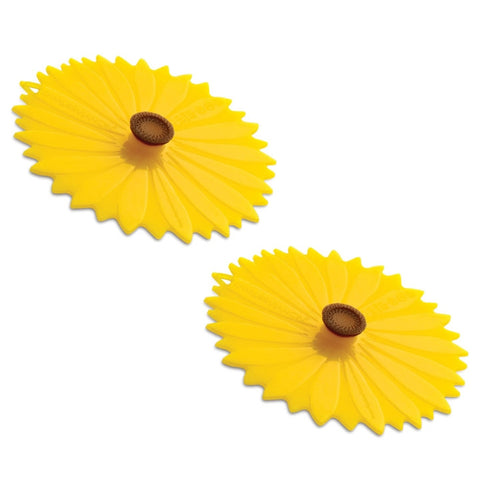 Sunflower Drink Covers, Set of 2 (NB)
