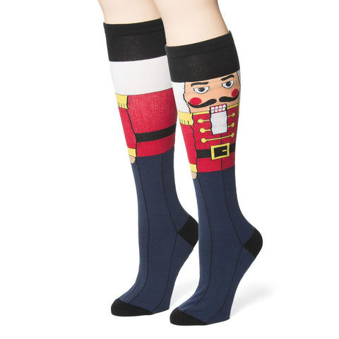 Nutcracker Knee-High Socks (NB)