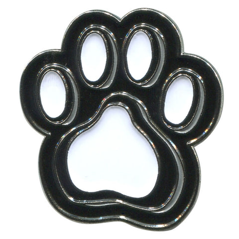 Paw Print Enameled Pin (NB)