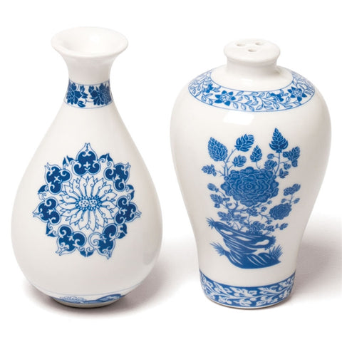 Ming Dynasty Salt & Pepper Shakers (NB)