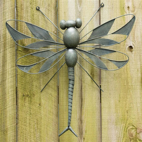 Verdigris Dragonfly Wall Art