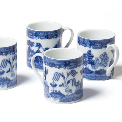 Blue Willow Mug Set (NB)
