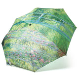 Monet's 'Japanese Bridge' Compact Umbrella
