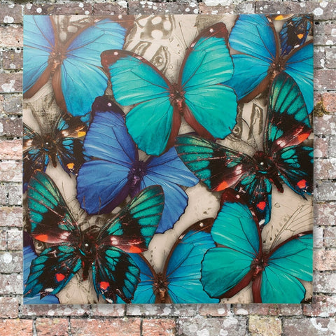 Butterflies Weatherproof Canvas Art (NB)