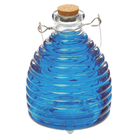 Blue Glass Beehive Wasp Trap (NB)