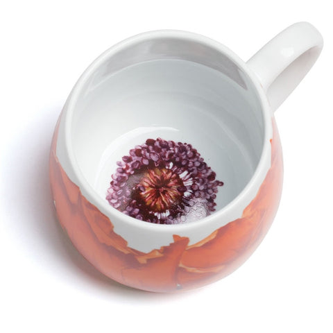 Corn Poppy Snuggle Mug