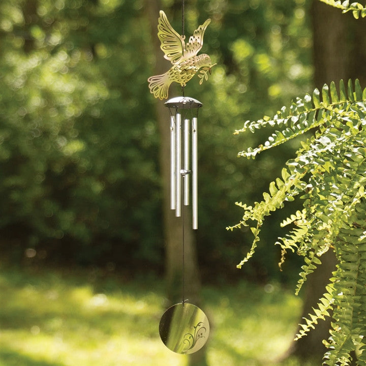 Peace Dove Compact Wind Chime
