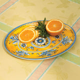 "Benidorm 12"" Oval Melamine Serving Platter (NB)"