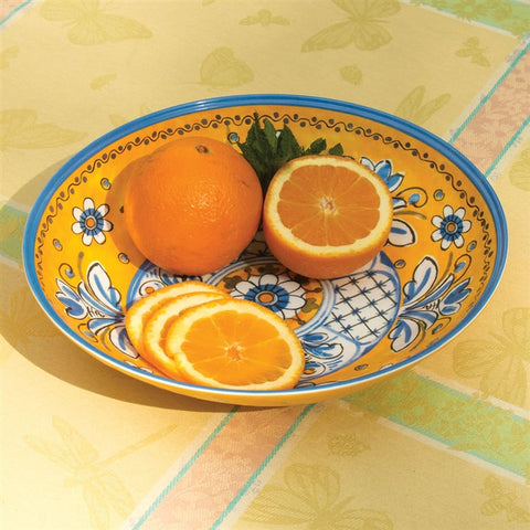 "Benidorm 11"" Oval Melamine Serving Bowl (NB)"