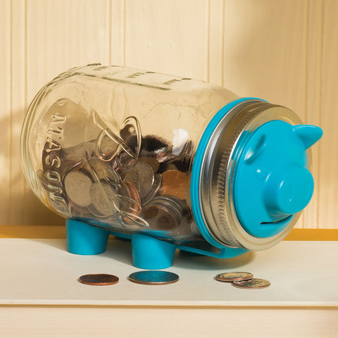Mason Jar Piggy Bank Kit (NB)