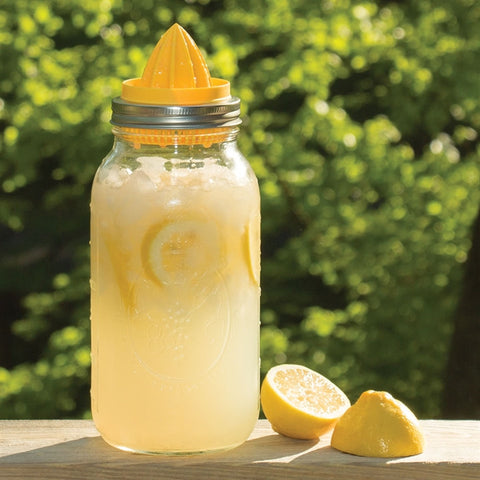 Mason Jar Top Juicer