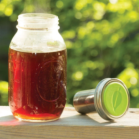 Tea Infuser Mason Jar Topper