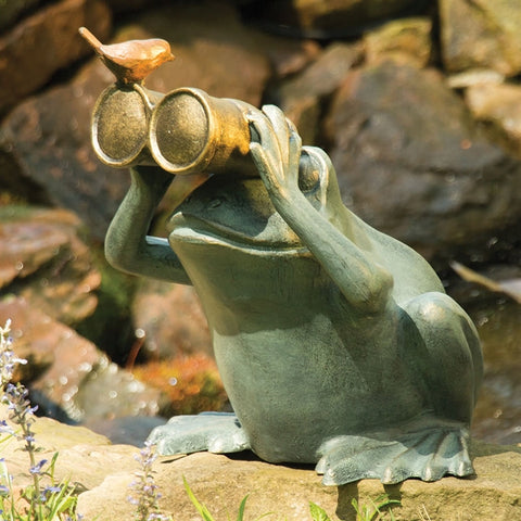 Peeping Toad Garden Figurine (NB)