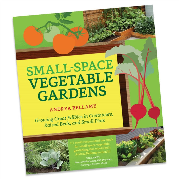 Small Space Vegetable Gardens Book