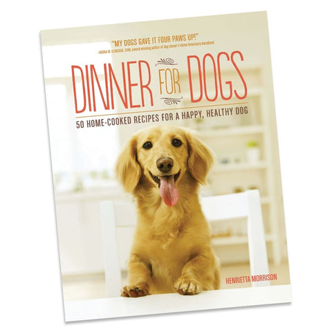 Dinner for Dogs Cookbook