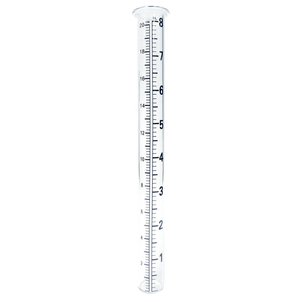 "Rain Gauge 8"" Replacement Glass Vial (NB)"