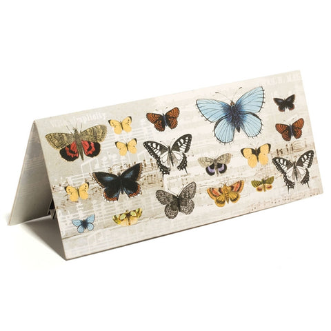 Piano & Butterflies Pop-Up Greeting Card With Sound