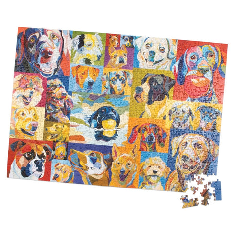 Doggone Crazy! 1000 Piece Puzzle (NB)