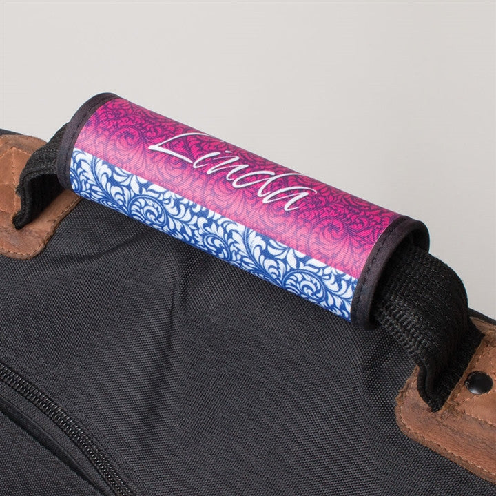 Personalized Luggage Handle Wrap (15 Char)