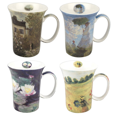 Monet Classics Boxed Mug Set