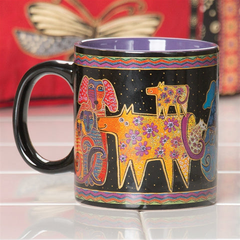 Laurel Burch 'Dogs & Doggies' Mug