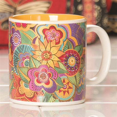 Laurel Burch 'Carlottas Garden' Mug (NB)