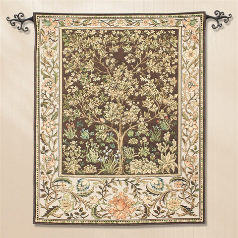 William Morris' Tree of Life Tapestry (NB)