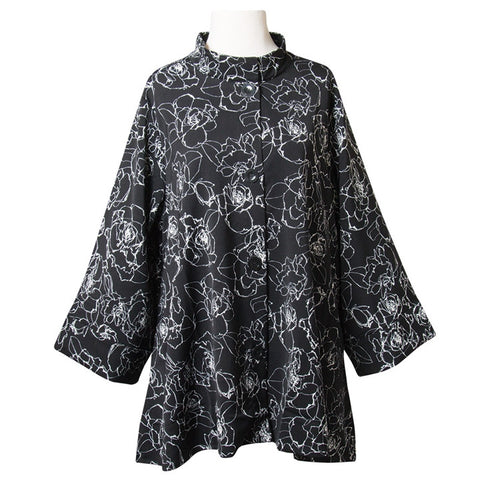Midnight Roses Swing Jacket (NB)