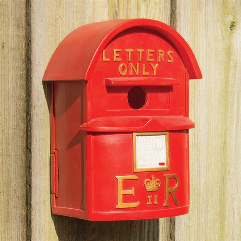English Postbox Birdhouse (NB)