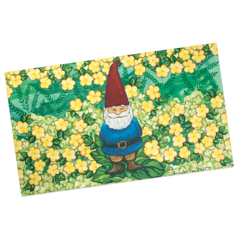 Gnome Sweet Gnome Welcome Mat (NB)