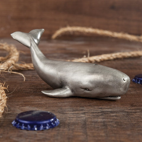 Pewter Whale Bottle Opener