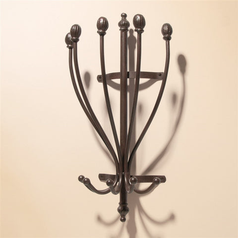 Iron Wall-Mounted Hat Rack (NB)