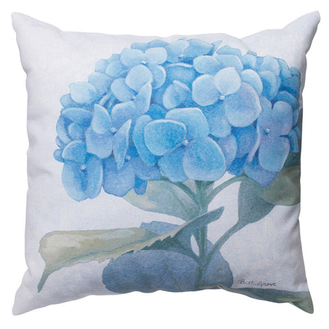 Hydrangeas Indoor/Outdoor Pillow (NB)