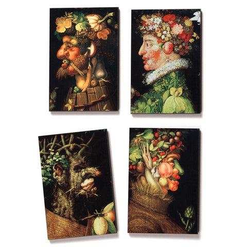 Arcimboldo Seasons Fine Art Magnets