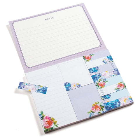 Hydrangeas Sticky Notes Portfolio