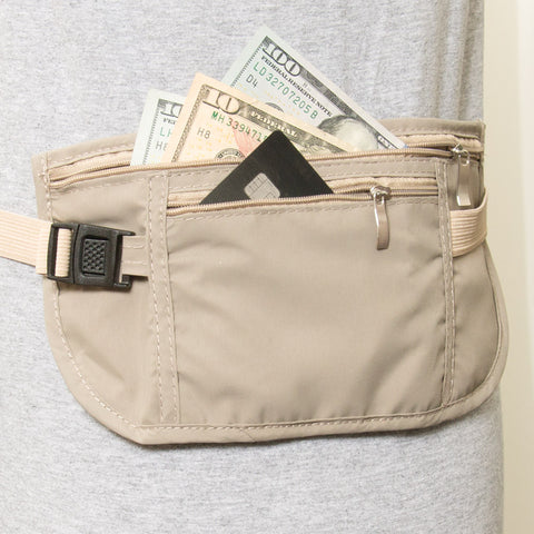Hideaway Waist Belt Travel Wallet