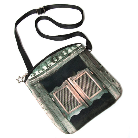 Saloon Doors Compact Crossbody Bag