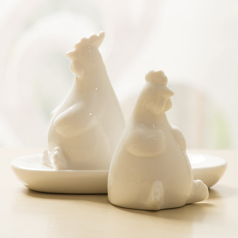 Chubby Chickens Salt & Pepper Shakers (NB)