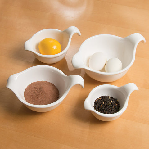 Spouted Prepping Bowls Set (NB)